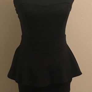 Poof Couture Little Black Cocktail Dress